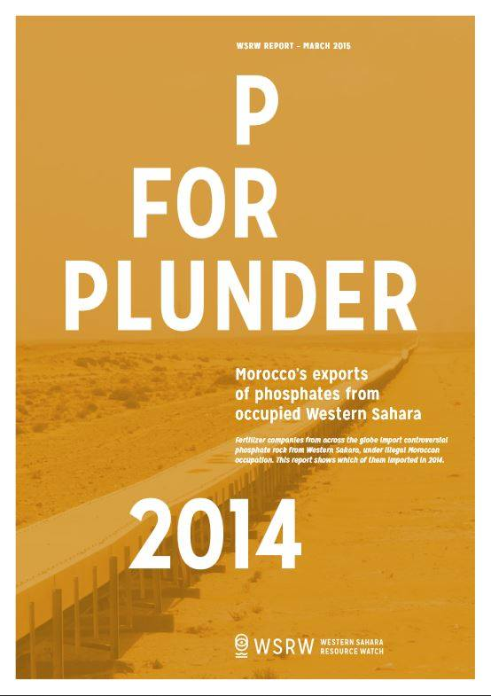 New WSRW report reveals importers of Western Sahara