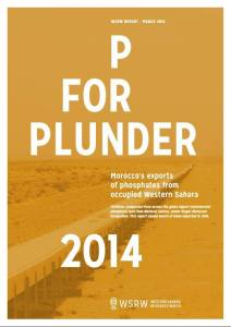 P FOR PLUNDER